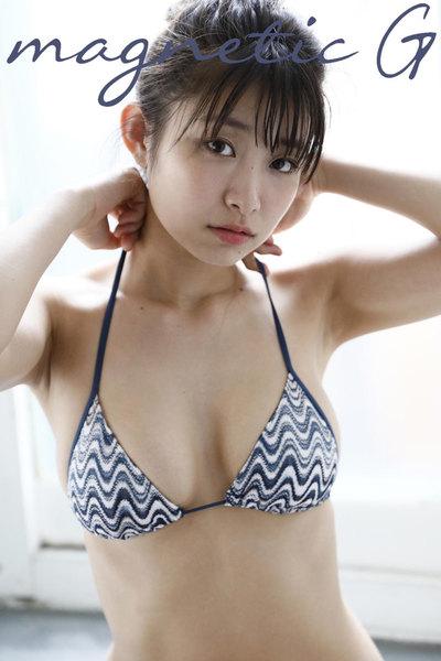 益田恵梨菜デジタル写真集『mint』magnetic G