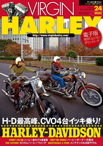 VIRGIN HARLEY 2014年1月号(vol.24)