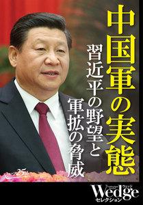 中国軍の実態 習近平の野望と軍拡の脅威 (Wedgeセレクション No.38)