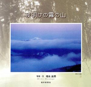夜明けの霧の山