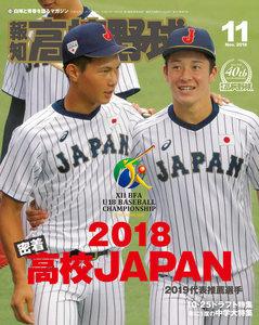 報知高校野球 2018年11月号