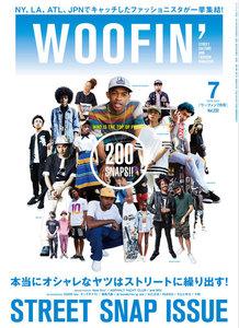 WOOFIN'  (ウーフィン) 2015年7月号