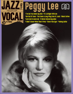 JAZZ VOCAL COLLECTION TEXT ONLY 24 ベギー・リー