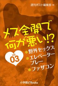 メス全開で何が悪い!?vol.3~野外セックス、エレベータープレー、ファザコン~