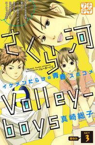 さくら河 Volley―boys プチデザ 3巻