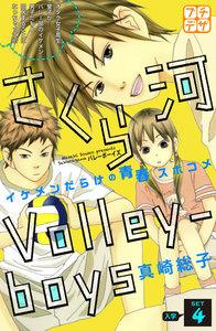 さくら河 Volley―boys プチデザ 4巻