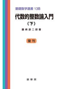 代数的整数論入門(下) 電子書籍版