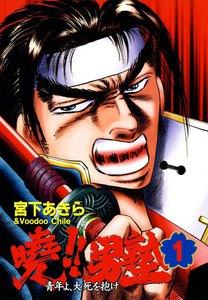 表紙『暁!!男塾  -青年よ、大死を抱け-』 - 漫画