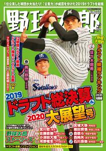 野球太郎 No.033 2019ドラフト総決算&2020大展望号
