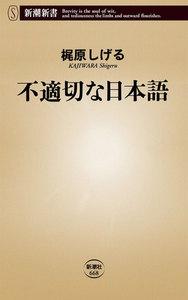 不適切な日本語(新潮新書)