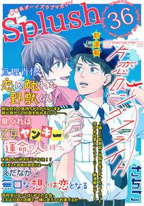 Splush vol.36 青春系ボーイズラブマガジン 電子書籍版