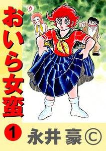 表紙『おいら女蛮』 - 漫画
