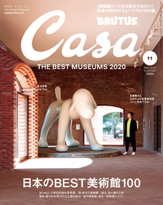 Casa BRUTUS (カーサ・ブルータス) 2020年 11月号 [日本のBEST美術館100]