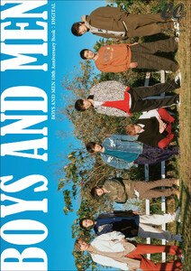 BOYS AND MEN 10th Anniversary Book DIGITAL photo by CanCam