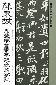 書聖名品選集(14)蘇東坡 : 赤壁賦・豊楽亭記・酔翁亭記 電子書籍版