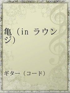 亀(in ラウンジ)