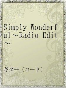 Simply Wonderful~Radio Edit~