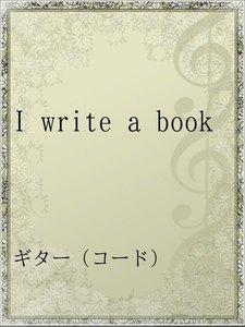 I write a book