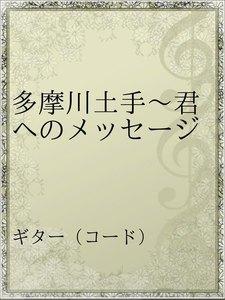多摩川土手~君へのメッセージ