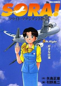 SORA!―フライト・アテンダント物語― 5巻