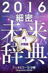 2016年占星術☆細密未来辞典水瓶座