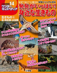 ワンダーキッズペディア14 生きもの3 鳥・両生類・は虫類 ~発見がいっぱい!身近な生きもの~ 電子書籍版