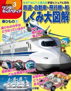 ワンダーキッズペディア3 乗りもの1 ~鉄道・自動車・飛行機・船しくみ大図解~ 電子書籍版