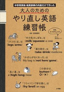 大人のためのやり直し英語練習帳 中学用英和・和英辞典の内容だけで作った 電子書籍版