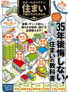 100%ムックシリーズ 日本一わかりやすい 住まいの選び方がわかる本 電子書籍版