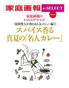 家庭画報 e-SELECT Vol.23 スパイス香る真夏の「名人カレー」 スペシャル版 電子書籍版