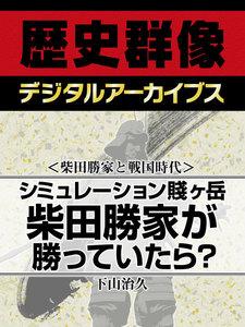 <柴田勝家と戦国時代>シミュレーション賤ヶ岳 柴田勝家が勝っていたら?