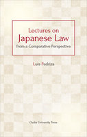 Lectures on Japanese Law from a Comparative Perspective