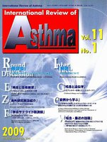 International Review of Asthma Vol.11No.1(2009.3)