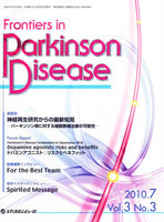 Parkinson's Disease Symposium in Takamatsu 2010 Dopamine agonists : risks and benefits ドパミンアゴニスト:リスクとベネフィット