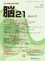 第20回カテコールアミンと神経疾患研究会・特別講演 The neurology of the reticular system with special reference to the motor system