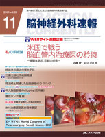 WFNS2013特別レポート WFNS The Young Neurosurgeons Awardを受賞して