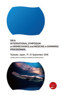 XIII th INTERNATIONAL SYMPOSIUM on BIOMECHANICS and MEDICINE in SWIMMING PROCEEDINGS